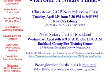 Notary Review Class